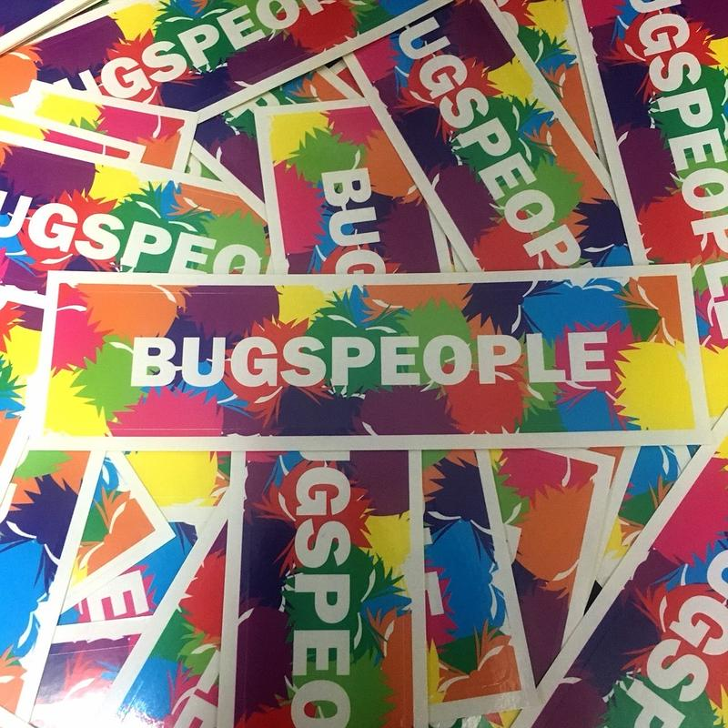 BugsPeople ステッカー