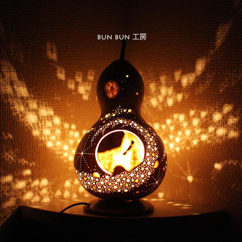 ひょうたんランプ  --命の星(地球)