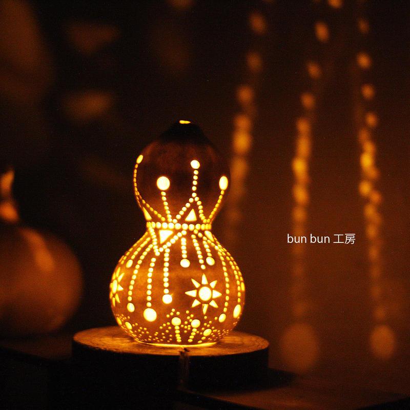 ひょうたんランプ--LED電池式 Sサイズlamp