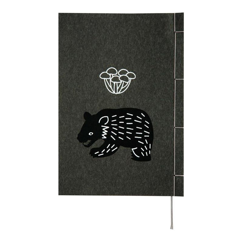 和綴じノート(単行本サイズ) 宮澤賢治 なめとこ山の熊