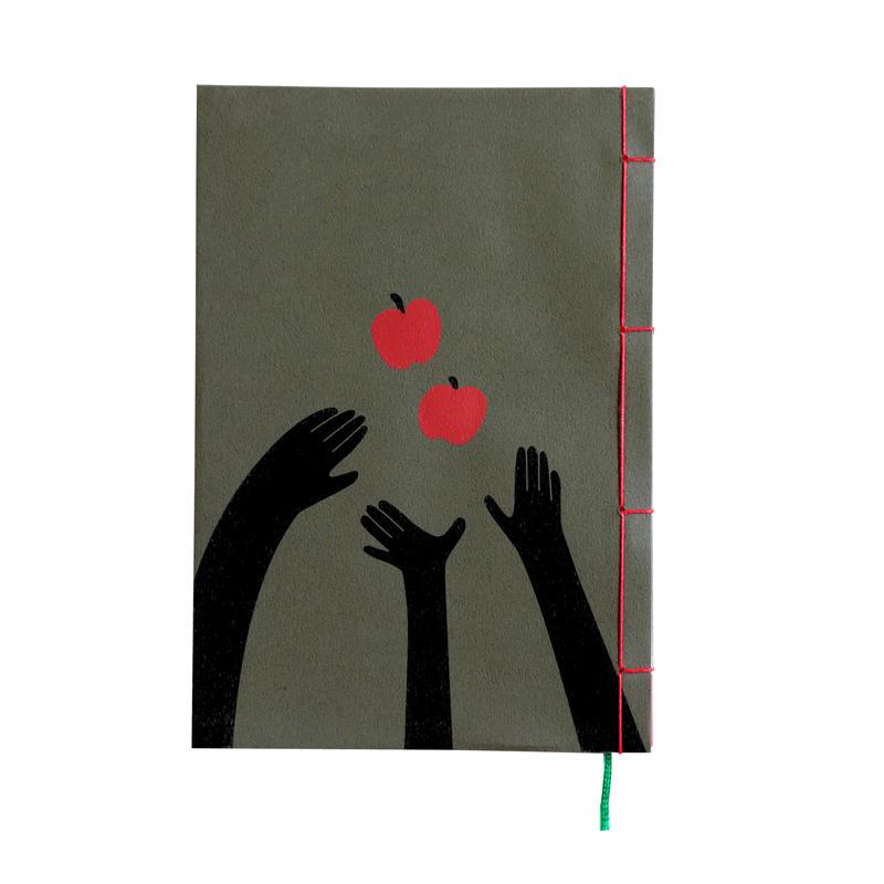 和綴じノート(単行本サイズ) 小川未明 三人と二つのりんご