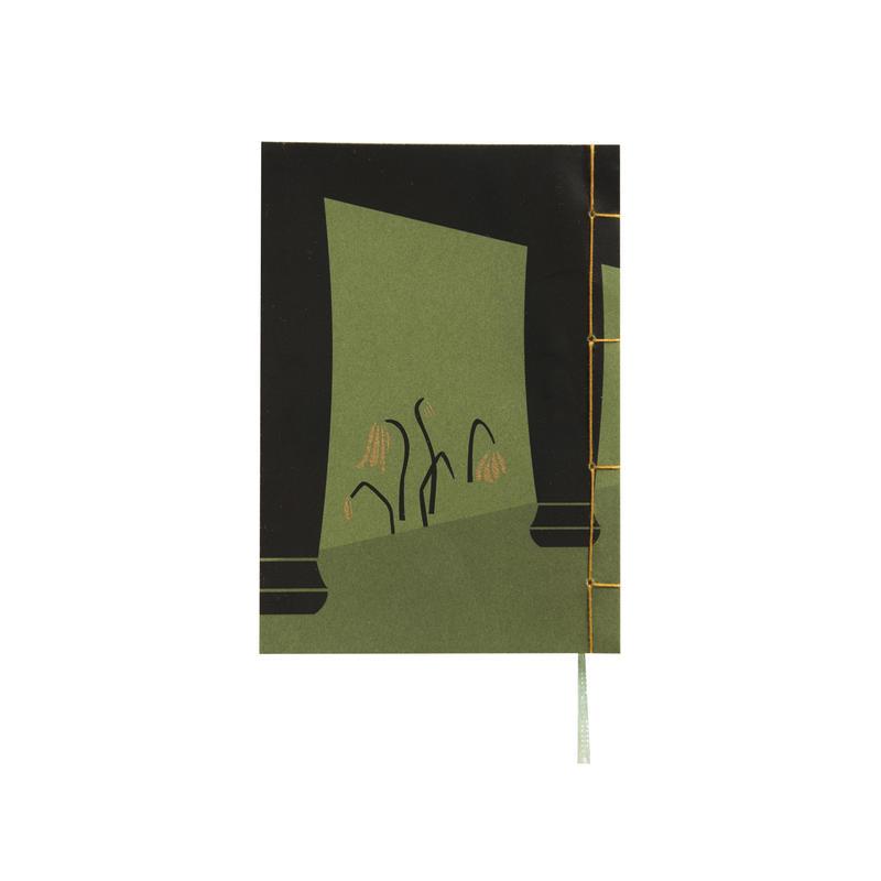 和綴じノート(文庫本サイズ) 夏目漱石 門