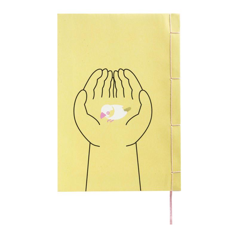 和綴じノート(単行本サイズ) 夏目漱石 文鳥
