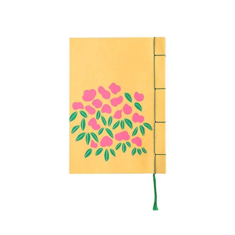 和綴じノート(文庫本サイズ)太宰治 黄金風景