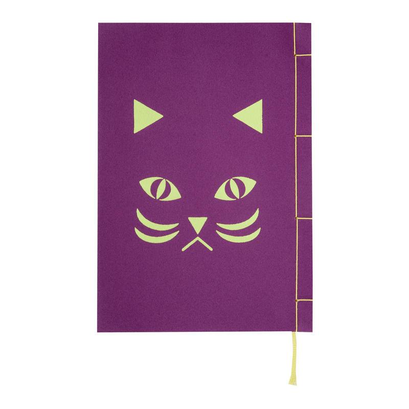 和綴じノート(単行本サイズ) 夏目漱石 吾輩は猫である