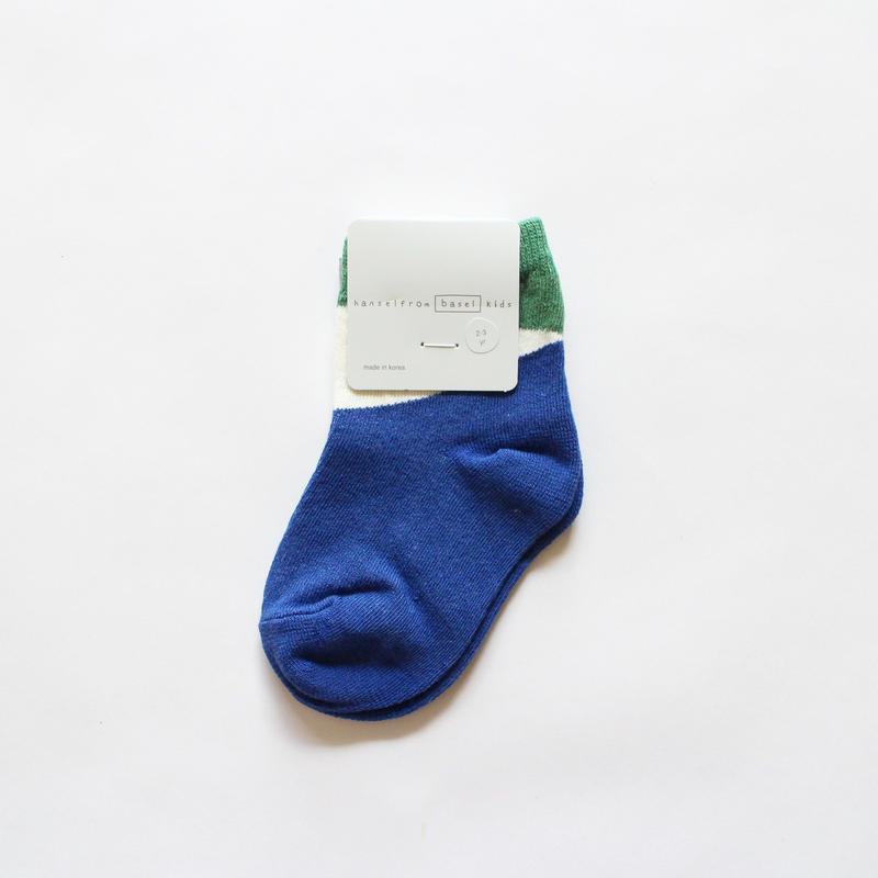 diamond crew socks / navy