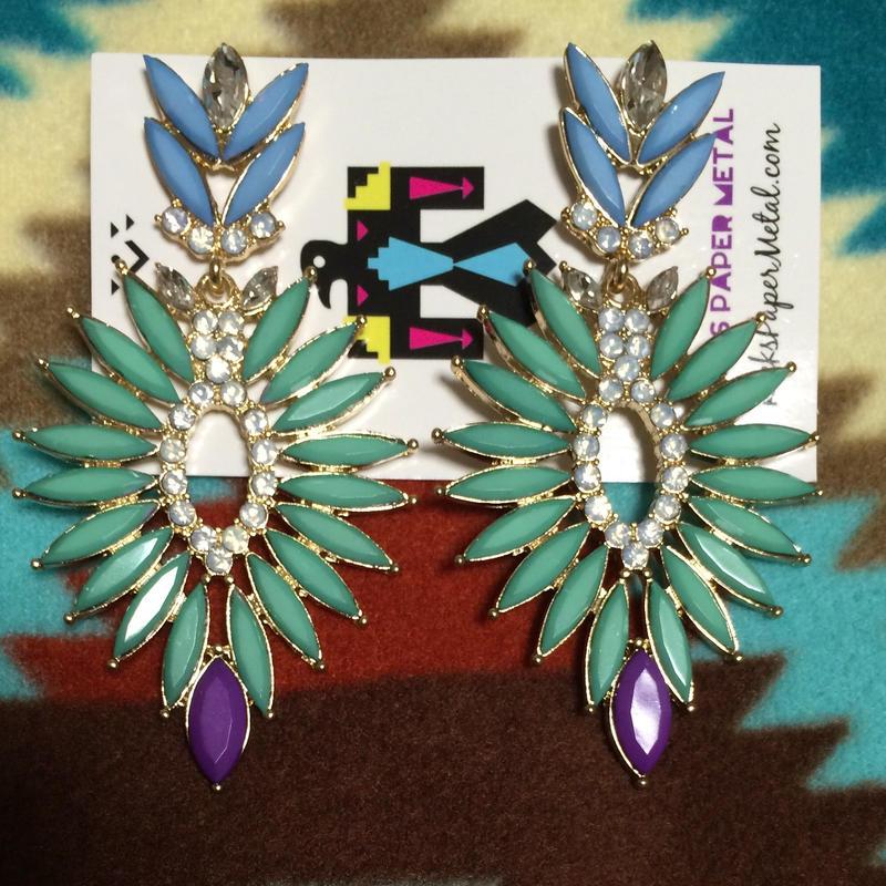 RPM  tribal earrings