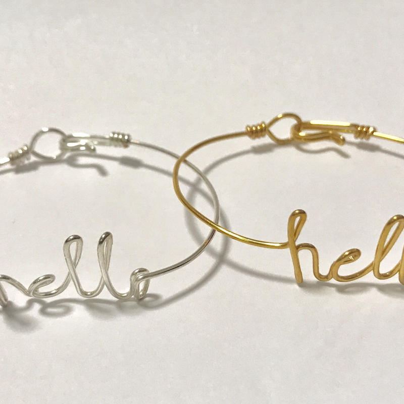Wired bangle by Kay style jewelry