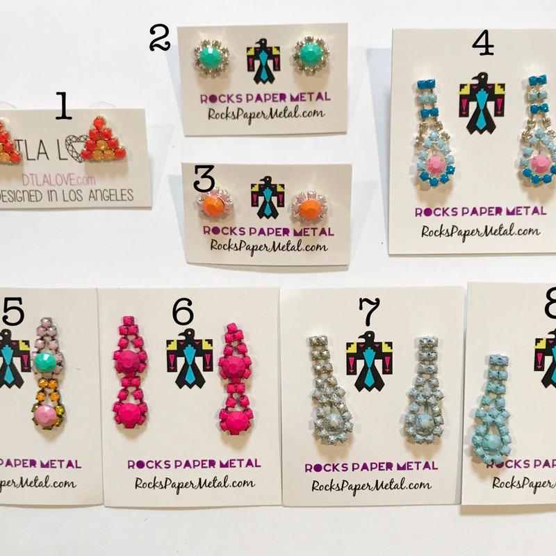 Tiny earrings ピアス