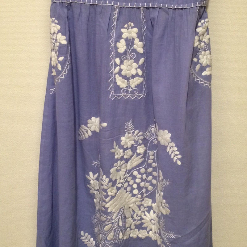 B品SALE  2ways embroidered dress