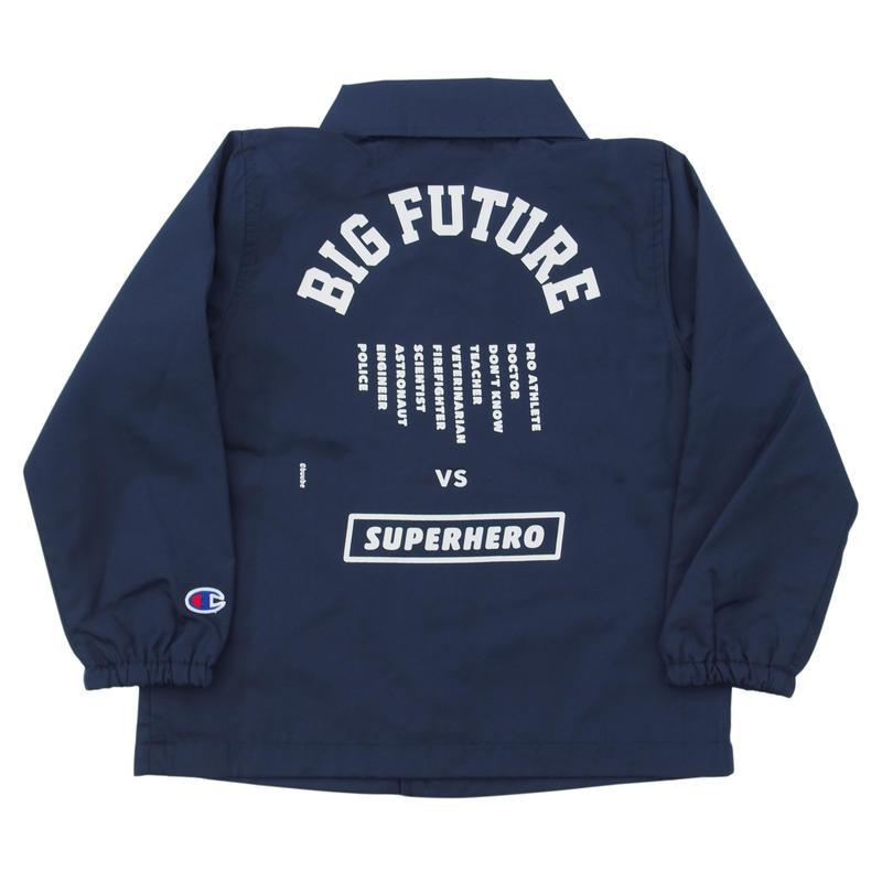 READYMADE BIG FUTURE  COACH JACKET / NAVY