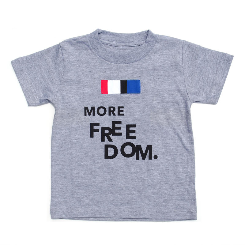 COLOR COMPOSITION PANEL TEE FREEDOM GRAY
