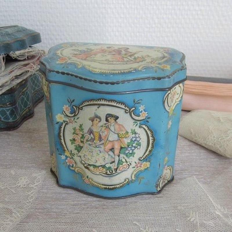 英国ライツ・ビスケッツ社ティン缶