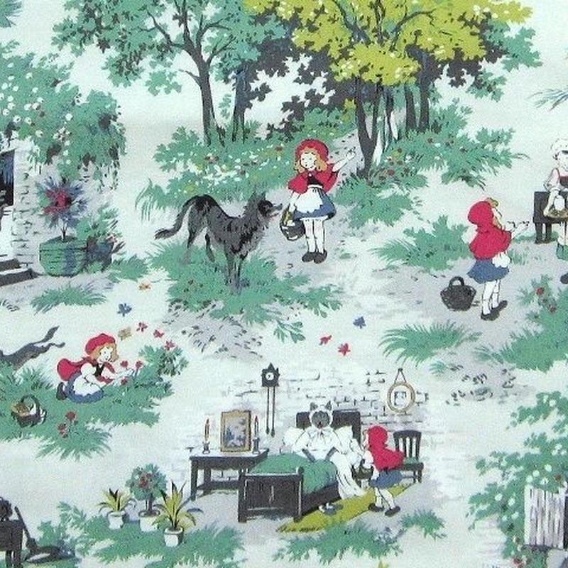 赤ずきんちゃんの布地