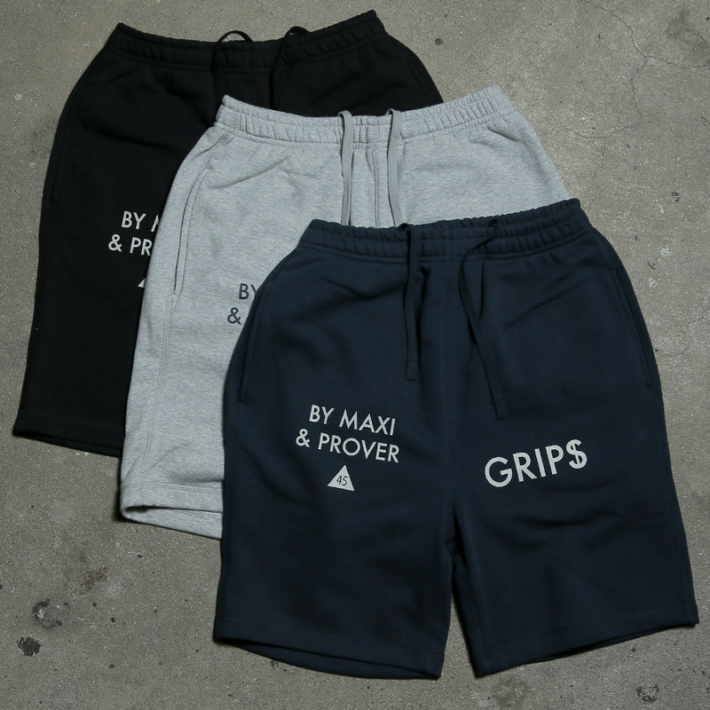 "【Sale Item】45 MILLIMETER ""GRIPS MOTORCYCLE"" Sweat Shorts"