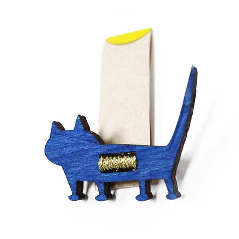 動物ブローチ「猫」