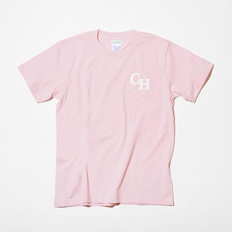 T-SHIRT ピンク (LOGO)