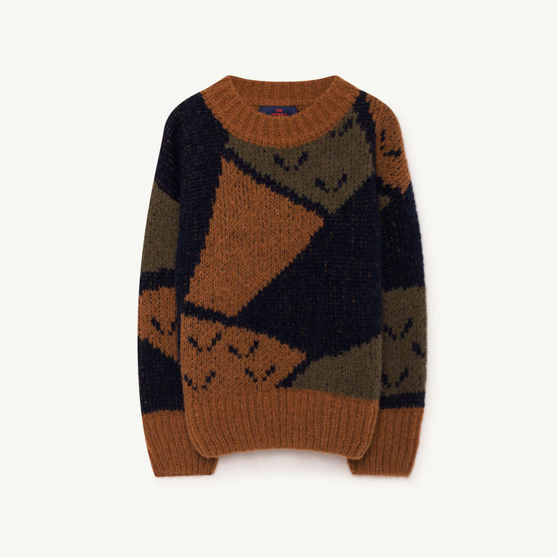 the animals observatory   arty bull kids sweater
