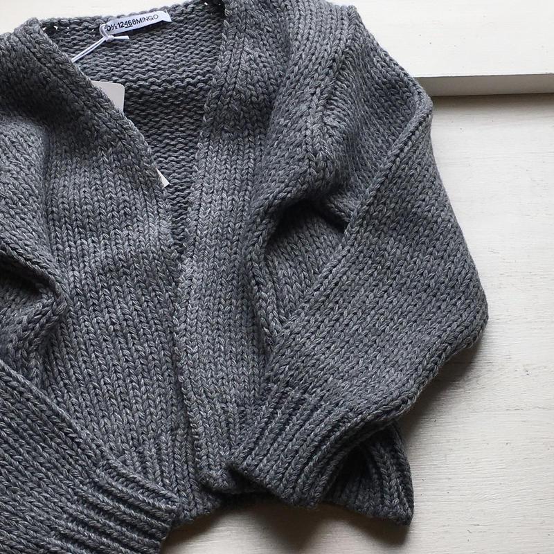MINGO. cardigan (grey)