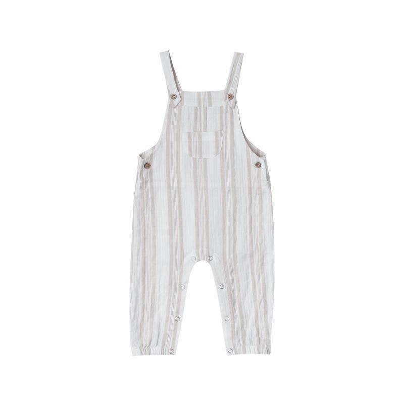 rylee+cru sand stripe baby  overall