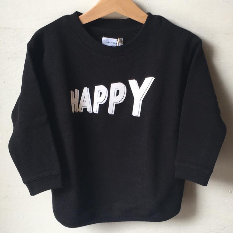 ARCH &LINE SALT HAPPY HEM ROUNDPO(black)