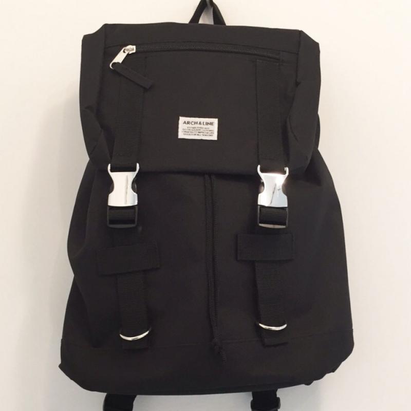 ARCH&LINE UTILITY BAG (BLACK)