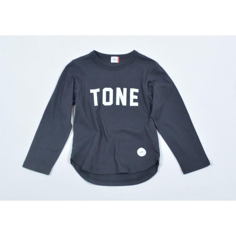 FOV TONE L/S Tシャツ(チャコールグレー)