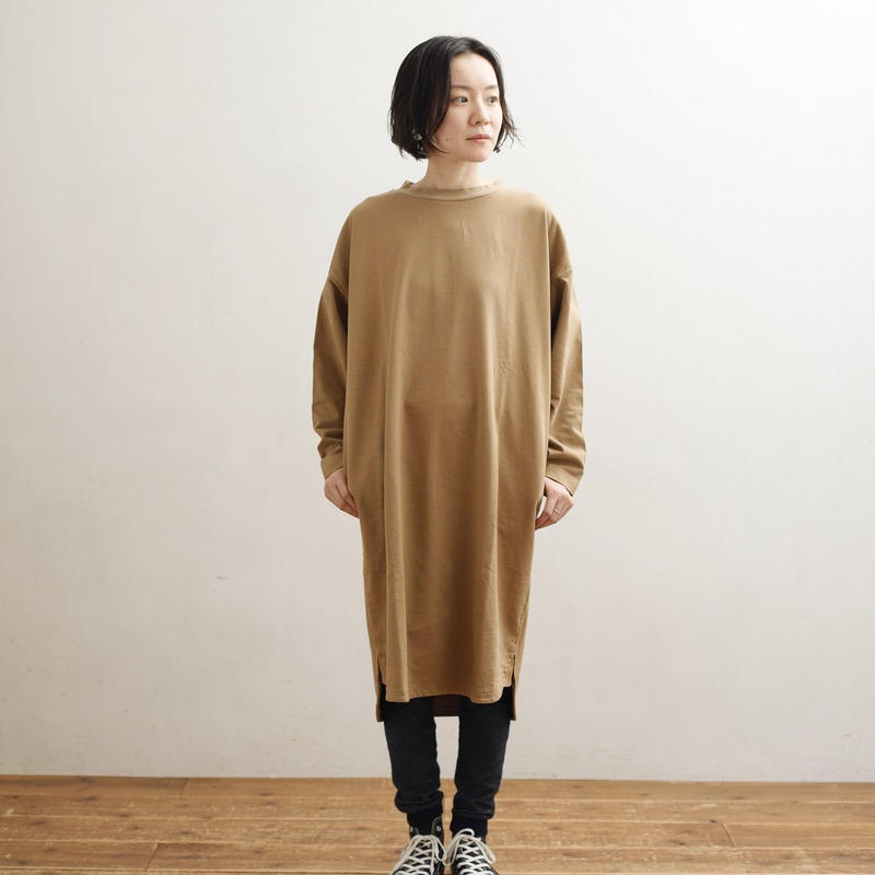 ARCH &LINE L/S FORM LONG TEE