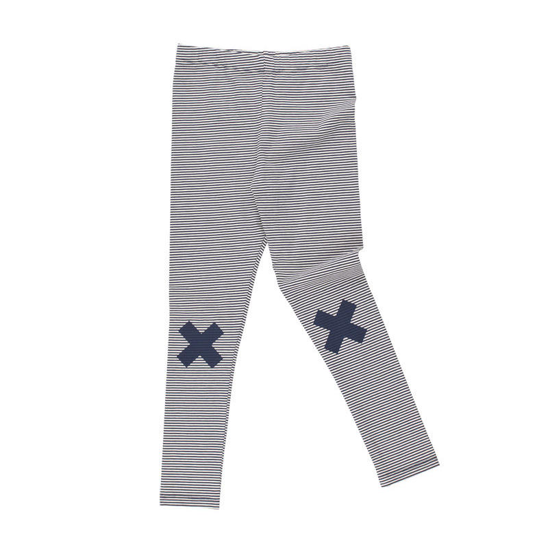 tinycottons multi lines logo pant
