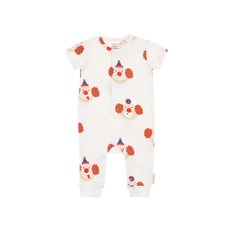 "tinycottons ""CLOWNS""  SS  ONE-PIECE"