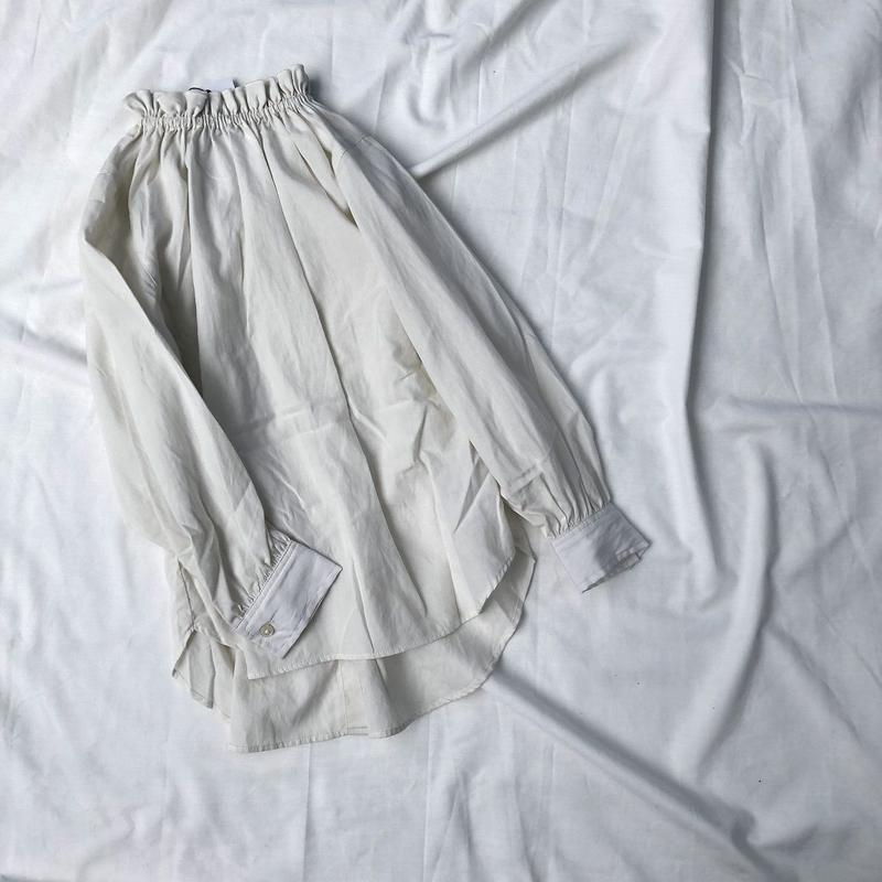 ARCH&LINE 2WAY FRILL SHIRT SOLD  (オフホワイト)SIZE1.2(145~165)