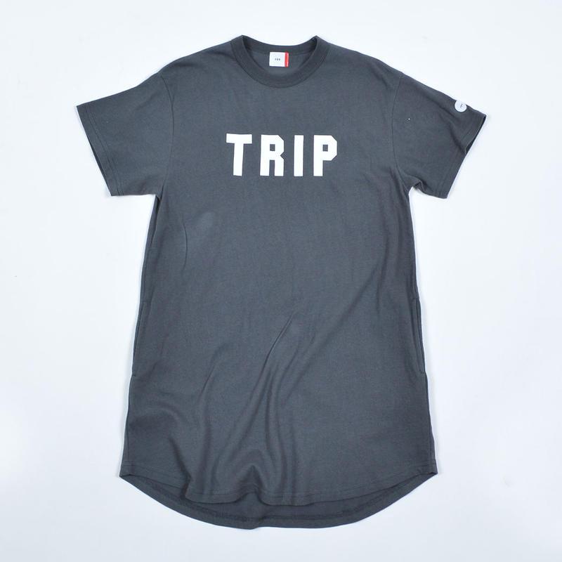 FOV   TRIP  Tワンピース(チャコールグレー)