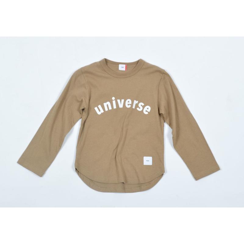 FOV universe L/S Tシャツ(キャメル)