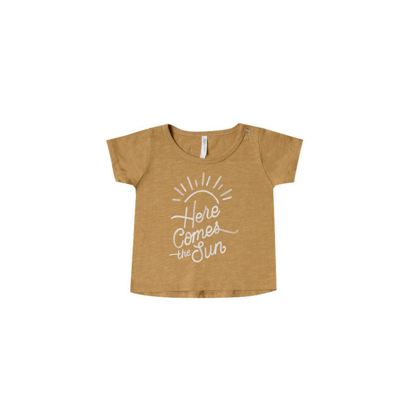rylee+cre here  comes  the sun basic  tee