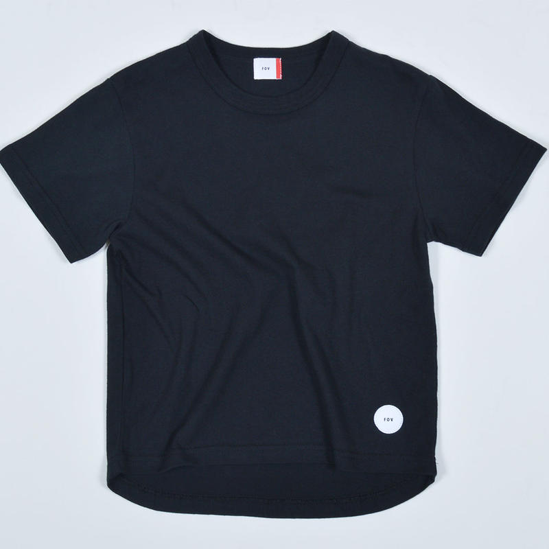 FOV  PLAIN   Tシャツ (ブラック)