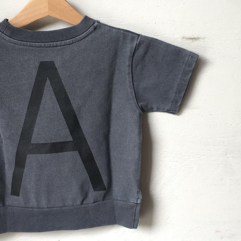 """ARCH&LINE CLOUDY H/S """"A""""TEE (NAVY)"""
