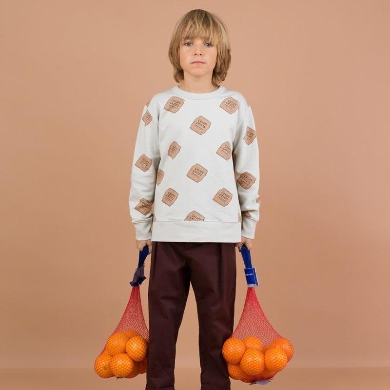 tinycottons  crips  fleece sweatshirt