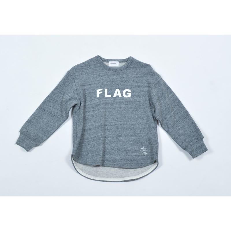 GENERATOR  FLAG スウェット(グレー)