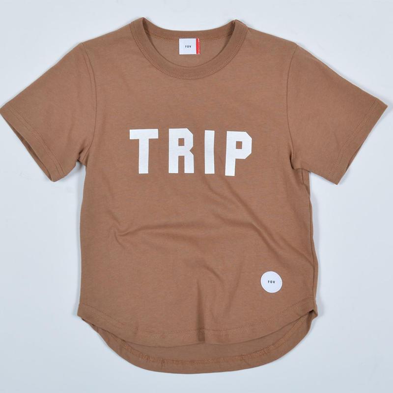FOV   TRIP   Tシャツ (ライトブラウン)