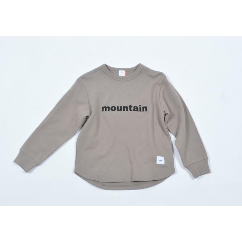 FOV mountain スウェット(アッシュグレー)