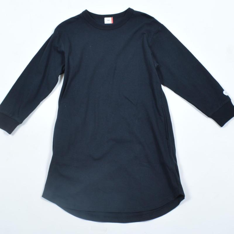 FOV  PLAIN  L/S ワンピース(ブラック)