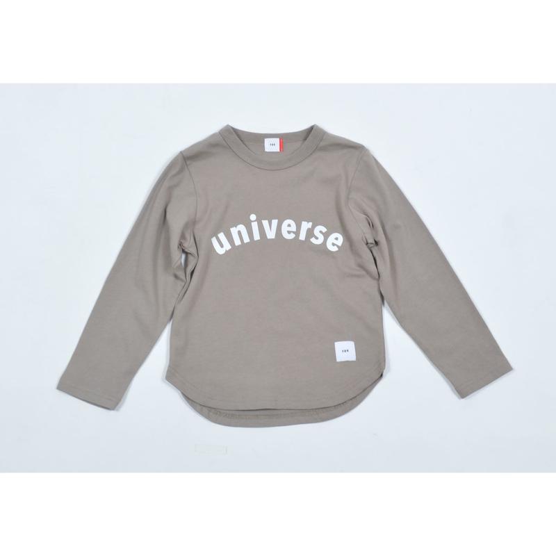 FOV universe L/S Tシャツ(アッシュグレー)
