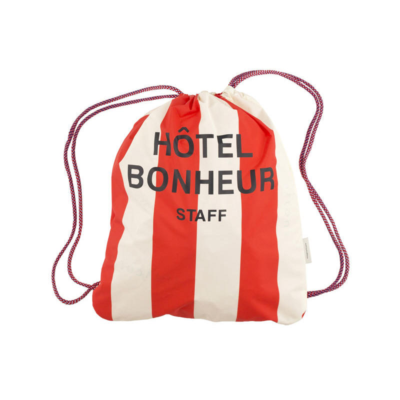 tinycottons stripes beach bag