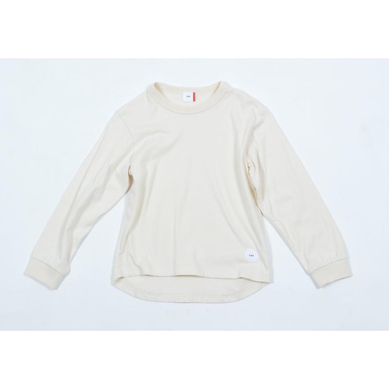 FOV PLAIN L/S Tシャツ(クリーム)