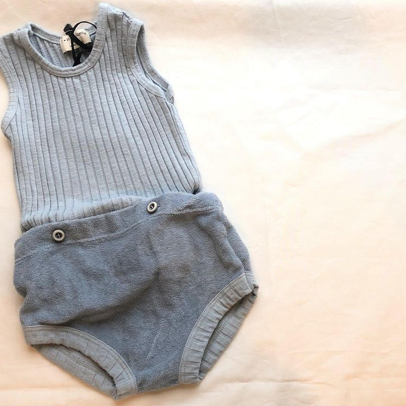 1+in the family AYALA two pieces romper(light  blue)