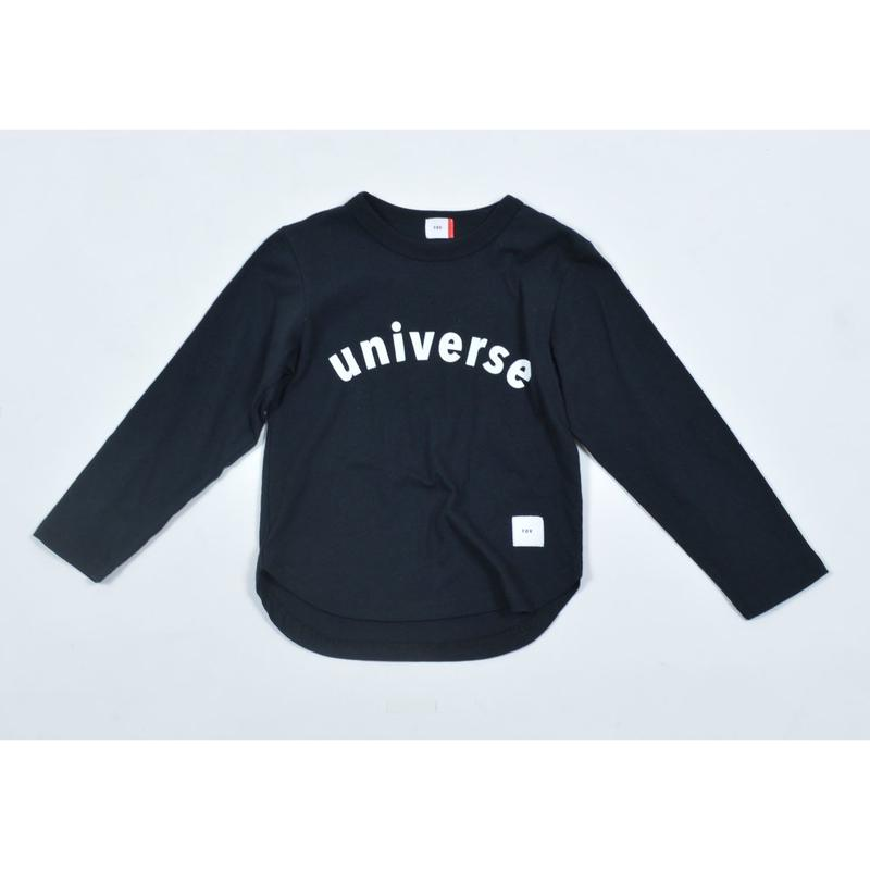 FOV universe L/S Tシャツ(ブラック)
