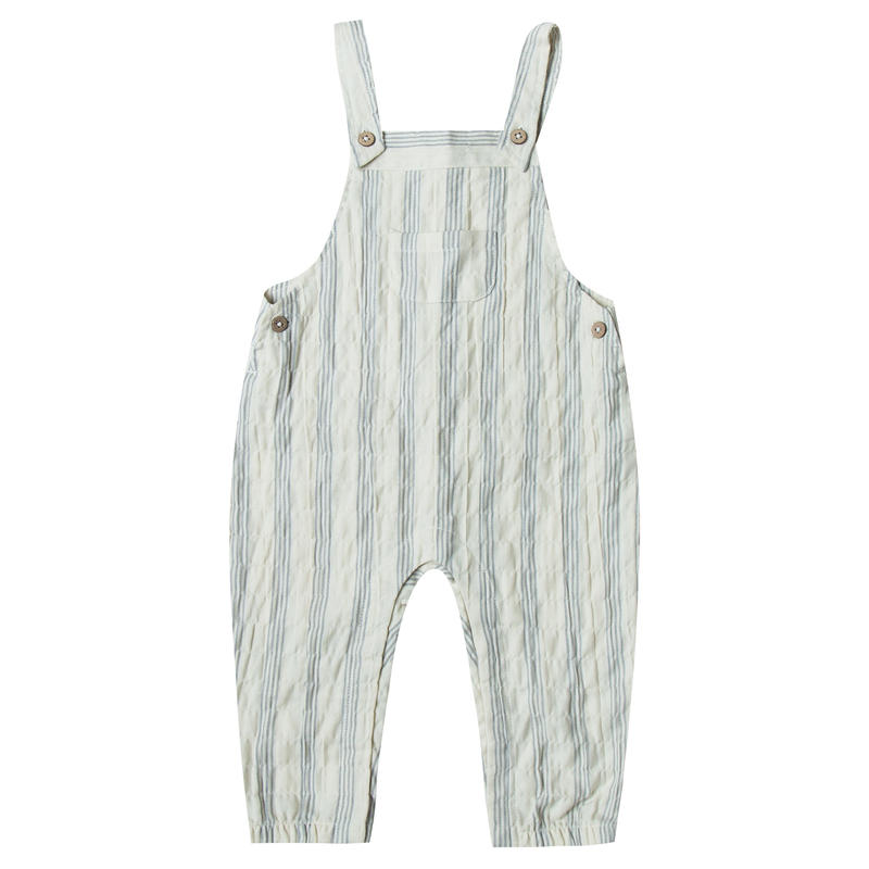 Rylee&cru  stripe baby overall