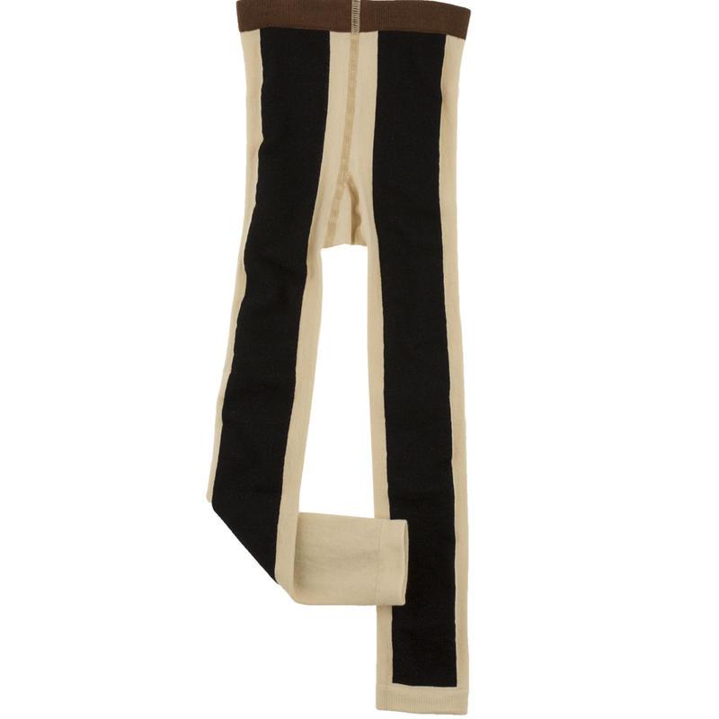 tinycottons long line leggins(beige/black)
