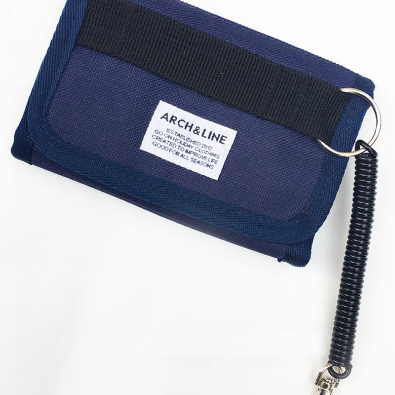 ARCH&LINE WALLET (NAVY)