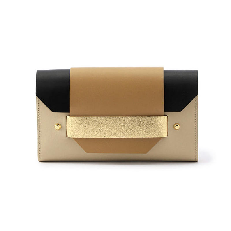 PUZZLE LONG WALLET / BEIGE